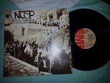 NCCP NUOVA COMPAGNIA DI CANTO POPOLARE 1973    LP 33 GIRI