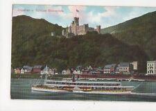 Capellen & Schloss Stolzenfels Germany Vintage Postcard 330a
