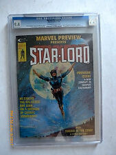 MARVEL PREVIEW #4 - CGC 9.4-1st STAR-LORD COMIC BOOK MAGAZINE!