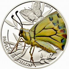Palau 2013 Butterfly 2 Dollars Silver Coin,Proof