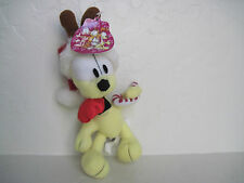 "8"" Garfield Friend ODIE DOG CHRISTMAS Plush Stuffed Animal"