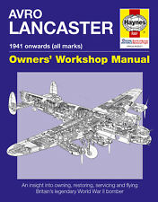 NEW HAYNES OWNERS WORKSHOP MANUAL AVRO LANCASTER BOMBER
