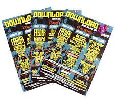 3 Download festival 2005 Posters BLACK SABBATH Slipknot MOTORHEAD Slayer ANTHRAX