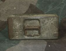 Original WW1 German army Relic MG 08 Double Ammunition Belt Box - Marked -