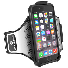 iPhone 7 Plus Armband Gym Kit, Workout Armband + Sport Case (2 pc set) Black