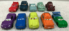 Lot Of 10 Disney Pixar Cars Mini Racers Micro Toy Cake Toppers