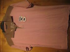 Scotch&Soda Herren Poloshirt getragen rosa/kaki Gr.M