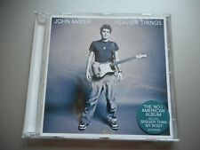 JOHN MAYER - HEAVIER THINGS (2003) - CD + INLAYS ONLY