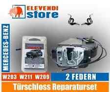 Türschloss Reparaturset - Mercedes W211 W203 W209 - 2 Feder // TechCar Parts