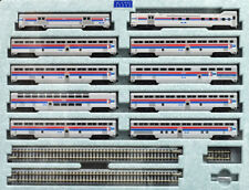 KATO (N-Scale) #106-079 AMTRAK El Capitan10 Passenger Car Set w/Display Track