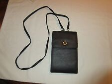 Handbag, Michael Stevens Fashion Accessory, Black With Gold Accents
