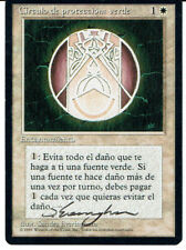 MAGIC THE GATHERING BB REVISED COP GREEN SIGNED BY SANDRA EVERINGHAM