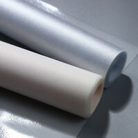 Static Cling Frosted Privacy Glass Window Sticker PVC Film Bedroom Bathroom 3m