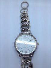 ladys sterling silver ECCLISSI watch bracelet (A8)
