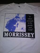 The Smiths It Takes Strength To Be Gentle And Kind Shirt Morrissey Size XL