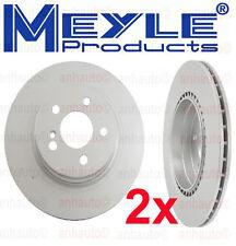 Mercedes W204 C350 E550  Set of 2 Rear Disc Brake Rotors Meyle 40433038