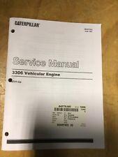 CATERPILLER SERVICE MANUAL for 3306 VEHICULAR ENGINE SENR7603 47V1-UP