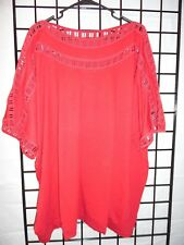 Roaman's Red blouse Size 4X