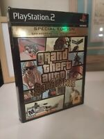 Grand Theft Auto San Andreas - Special Edition  PlayStation 2 - missing manual