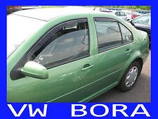 VW Bora  Yrs 98 - 04  4 Piece Tinted Wind Deflectors Front & Rear Doors