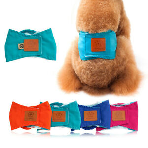 Male Dog Nappy Belly Wrap Band Dog Panties Physiological Underwear Pet Short