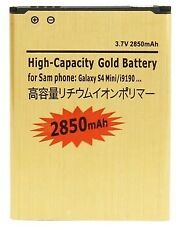 Battery for Samsung Galaxy S4 Mini i9190 i9195 LTE Gold Replacement