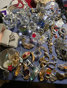 Lot Of Swarovski Crystal Items. Some Are Repair Most Are In Great Condition