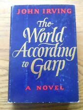 THE WORLD ACCORDING TO GARP BY JOHN IRVING, HARDCOVER