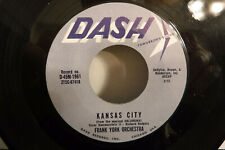 Frank York Orchestra, Kansas City / Missouri Waltz, Dash D-45M-1961, 1961 Jazz