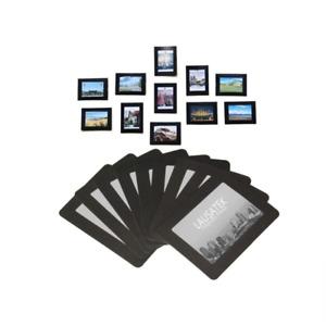 Magnetic Photo Picture Frames and Refrigerator Magnets Pocket Frame Black
