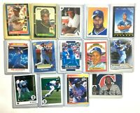 14 Collectible Baseball Trading Card Lot | Barry Bonds, Bo Jackson, Frank Thomas