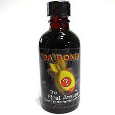 Da'Bomb The Final Answer Hot Sauce, 2-Ounce Bottle New