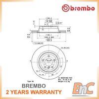 2x BREMBO REAR BRAKE DISC SET BMW OEM 09A27011 34216764655