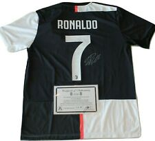 CRISTIANO RONALDO #7 SIGNED JUVENTUS ADIDAS® JERSEY w/COA Autographed CR7 Juve