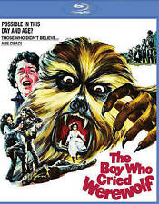 The Boy Who Cried Werewolf, New Sealed Blu-ray, Horror, FREE SHIPPING