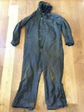 Vintage Green Belstaff Vintage Wax One Piece Suit Available Worldwide