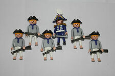Playmobil Piratas Capitán y 5 SOLDADOS SOLDADOS CASACAS ROJAS 3740 marineschoner