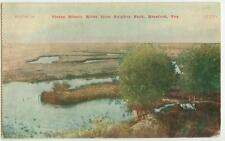 1909 Hereford Texas Tierra Blanco River from Sulphur Park