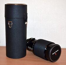 Vivitar Series 1 70-210mm lens + case (M/MD Minolta mount) EXC Condition