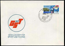 East Germany 1982 Sports And Science Association FDC First Day Cover #C32851