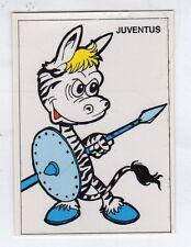 figurina CALCIATORI SCUDETTO MASCOTTE EDIS 1983/84 JUVENTUS