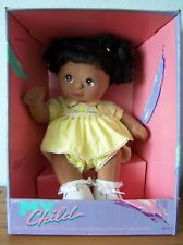 1985 MY CHILD AA DOLL AFRIC AMER, Black Hair, Brown Eyes, Ducky Outift NRFB NEW