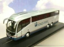 OXFORD DIECAST 1/76 SCANIA IRIZAR i6 COACH THE KINGS FERRY VIP SILVER 76IR6003