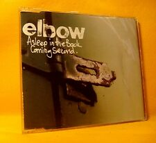 MAXI Single CD ELBOW Asleep In The Back / Coming Second 3TR 2002 indie rock