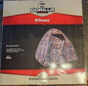 Gorilla Rifleman Blind Tent - ULTRA LITE 54 X 60 X 59