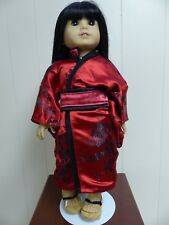 """Handmade Oriental Kimino Outfit Fits 18"""" American Girl Dolls !"""