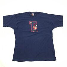 WB Looney Tunes TAZ Golf Shirt Adult Extra Large Sewn Single Stitch VINTAGE 1997