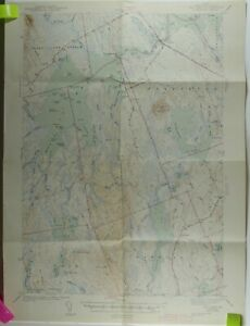 US Geologic Survey - Big Lake (Maine Washington County) Quadrangle Map 1943