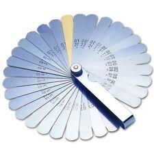 Laser Las2481 Feeler Gauge Imperial Metric 32 Blades 2481 Measure Precision Tool