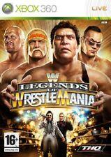 Wwe Legends of Wrestlemania (wrestling) Xbox 360 THQ